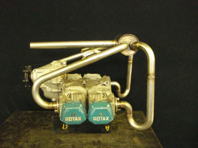 custom rotax muffler 4into1.jpg